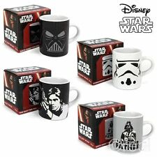 New Star Wars Darth Vader Stormtrooper Or Han solo Mini Mugs Espresso Official