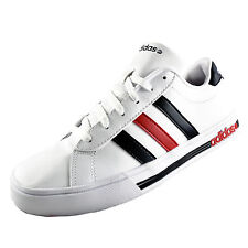 Adidas Neo Daily Team Mens Casual Classic Leather Trainers White
