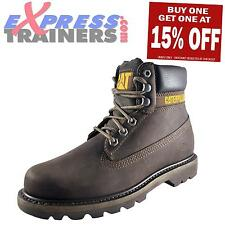 Caterpillar CAT Colorado Mens Work Wear Outdoor Brown Leather Boots
