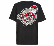 Fatal Clothing MOTO Youth Boys Black Short Sleeve MX Rider Graphic T-Shirt