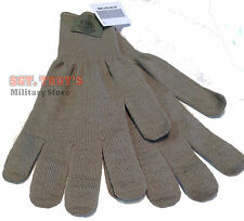 10 Pack USGI Lightweight CW Gloves Inserts Gray Medium/Large Brown XL