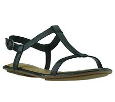 NEW Clarks Risi Hop Shoes Womens Sandals Real leather sandal Black 26108860
