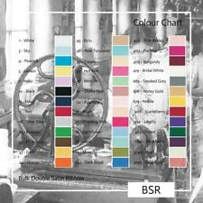 Berisfords Double Satin Ribbon Bulk Reels 33 colours 7 widths Listed