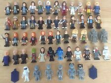 """DR WHO 2"""" CHARACTER BUILDING FIGURES - DOCTORS COMPANIONS CYBERMEN SILENT OOD"""