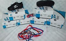 """Zephz Youth Soccer Cleats """"Cobra"""" New in Box Black White  $34.99 Colored Laces"""