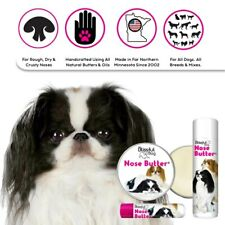JAPANESE CHIN NOSE BUTTER® for Your Dog's Dry, Rough Nose in Tins & Tubes