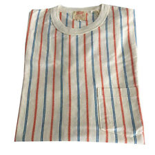 LEVI'S VINTAGE CLOTHING t-shirt short sleeves mod 1960 STRIPED TEE