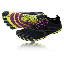 Vibram Bikila EVO Womens Black Five Finger Running Sports Shoes Trainers