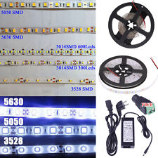 5630 5050 3528 3014 2835 SMD 5M 300 600Leds Flexible Led Strip Light Waterproof