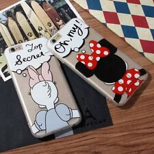 Hot 3D Minnie mouse Daisy duck Lucky Cute Soft case for iPhone 6 6S 6SPlus 5 SE