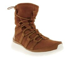 NIKE WMNS Roshe One Hi Suede Shoes Women's Sneakers Boots Brown 807426 200