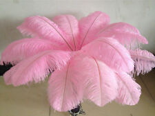 10-2000pcs Quality Natural Pink OSTRICH FEATHERS 20-22'inch/55-60cm