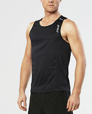 NEW 2XU Ice X Singlet Mens Shirts
