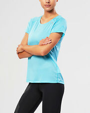 NEW 2XU Ghst Short Sleeve Top Womens Shirts