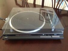 Vintage Technics SL-QD33 Direct Drive Stereo HiFi Turntable Needs Attention Look