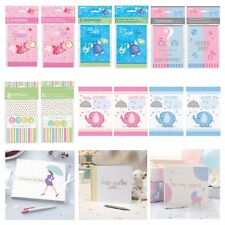 BABY SHOWER CARDS - Invitations, Thank you cards, Guest Books, Unisex, Girl, Boy