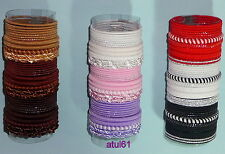 30 HAIR ELASTICS BOBBLES HAIR BANDS HAIRBANDS DIFFERENT COLOURS TONES ASSORTED