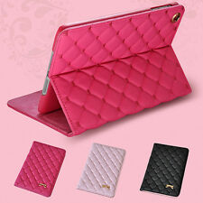 Bow Faux Leather Smart Case Stand Cover for iPad 2 3 4 5 Air 2 Mini Pretty