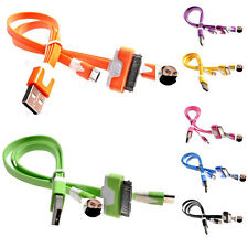 HOT 3 In 1 Charge  Data Sync Cable For iPhone 4G 5G 6G iPad iPod  Android Phones