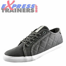 Voi Jeans Canton Mens Casual Designer Plimsolls Pumps Trainers Grey