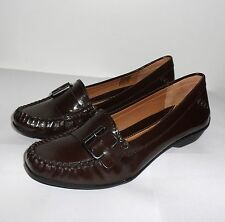 CLARKS ACTIVE AIR GILDED STONE BROWN  PATENT patent shoes various sizes
