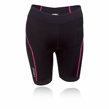 2XU Active Tri Womens Pink Black Running Work Out Sports Shorts Pants Bottoms