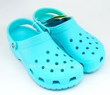 NEW Crocs Classic Pool Blue Mens / Womens Adult Unisex Slip on Clogs Shoes