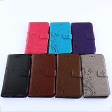 New Wallet Flip PU Leather Phone Case Cover Stand For  iPhone Samsung SONY
