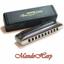 Hohner Harmonica - 580/20 Meisterklasse MS (SELECT KEY) NEW