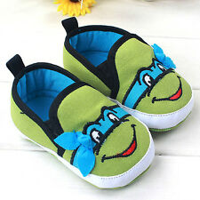 Infant Baby Boy Girls Soft Sole Crib Toddler Shoes Newborn 0- 18 Months Awesome