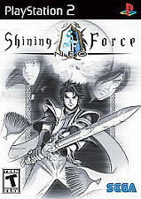 Shining Force Neo (Sony Playstation 2) PS2 COMPLETE SEGA RPG RARE