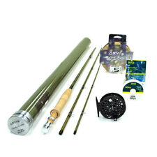 "NEW - Orvis Superfine Glass 5wt 8'0"" Fly Rod Outfit - FREE SHIPPING!"