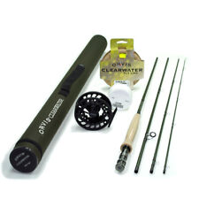 NEW - Orvis Clearwater 6 weight 9ft Fly Rod Outfit 906-4 - FREE SHIPPING!