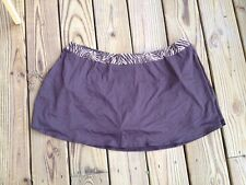 COCO REEF PLUS SIZE SWIM SKIRT BOTTOMS PANT SWIMSUIT BROWN SIZE 3X NEW! $62