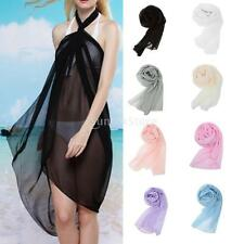 NEW Fashion Women Long Soft Wrap Lady Shawl Chiffon Silk Scarf Scarves