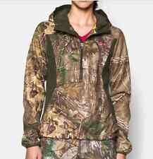 Under Armour Womens Realtree AP Xtra Camo Scent Control Hoodie Pullover #096