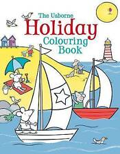 Holiday Colouring Book by Usborne - New Book