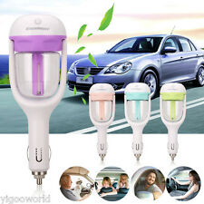 NEW Car Humidifier Air Purifier Freshener Aromatherapy Essential oil Diffuser