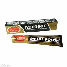 Autosol Solvol Chrome  Polish  Aluminium & Metal Polish 75ml tube