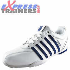K Swiss Arvee 1.5 Mens Classic Casual Retro White Leather Trainers UK 7