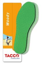 TACCO 648 Woody Orthotic Latex Foam Support Shoe Insoles Inserts