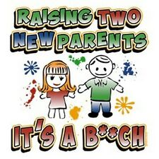 Raising Two New Parents Infant Creeper Your Choice Colors & Sizes 30094