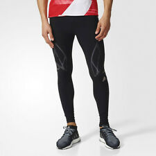 Adidas Sprintweb Mens Black Climacool Long Running Tights Bottoms Pants