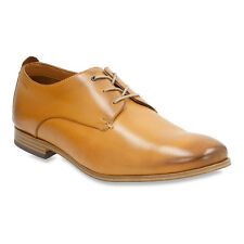 Clarks CHINLEY WALK Mens Tan Leather Lace Up Comfot Oxford Dress Shoes
