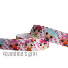 "1""25mm Caroons b Printed grosgrain ribbon 5/50/100 yards hairbow Wholesale"