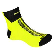 MORE MILE MENS WOMENS HI VIZ LITE CUSHIONED RUNNING GYM SPORTS ANKLE SOCKS 3