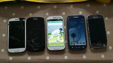 Samsung Galaxy S III GT19300 mobile phones and Samsung SM-G357FZ spares/repair