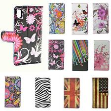 Wallet Phone Leather Flip Case Cover Stand Pouch For Sony Xperia Z2 Z1 Z M2 E1