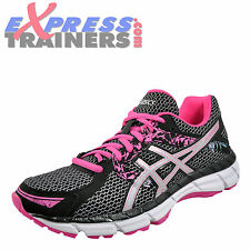 Asics Gel Oberon 10 Womens Running Shoes Fitness Gym Workout Trainers Black