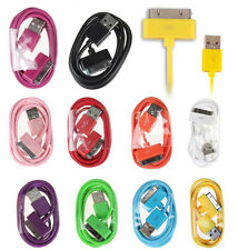 For iPhone 4 4S 3G/3GS ipod touch1 2 3/ipad 2 3 Charger Cable USB Sync Data Cord